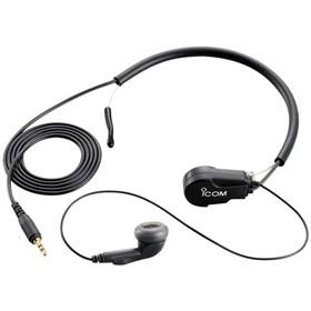 icom earphone with throat mic headset