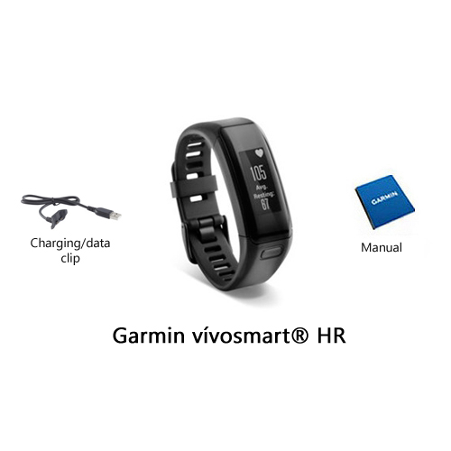 garmin vivosmart hr translated packaging
