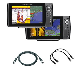 Humminbird Helix 10 / 10 SI Package