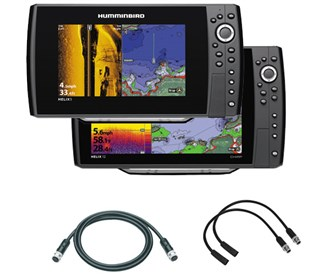 Humminbird Helix 12 / 9 SI KVD Package