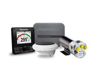 raymarine evolution ev 150 hydraulic autopilot system
