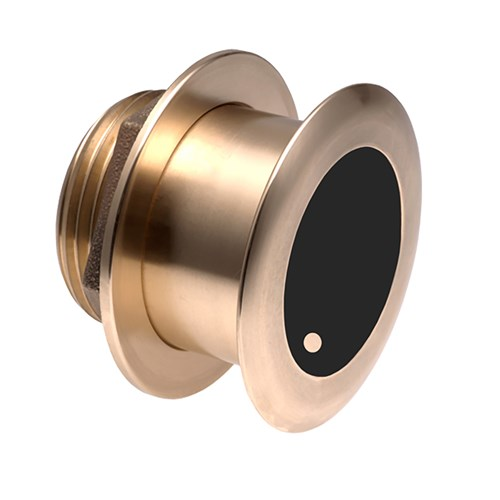 airmar b164 bronze thru hull transducer with 7 pin plug
