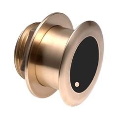 """Product # B164-12-14HB <ul> <li><span class=""""blackbold"""">Bronze Thru Hull Transducer</span></li> <li>12&deg; Tilted Element Transducer</li> <li>50/200 kHz Multiple-Ceramics</li> <li>For Center-Console &amp; Trailered Boats</li> <li>Low-Profile Protrusion Below the Hull</li> <li><span class=""""bluebold"""">Power 600W or 1 kW RMS</span></li> <li>Depth &amp; Fast-Response Water-Temperature Sensor</li> <li>Bronze Transducer Housing</li> <li>Boat Size: 8M to 11M (25' to 35')</li> </ul>"""