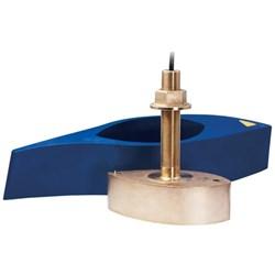 """Product # 000-13771-001 <ul> <li><span class=""""blackbold"""">Wide Beam Transducer</span></li> <li>Material: Stainless Steel</li> <li><span class=""""bluebold"""">Power (RMS): 1kW</span></li> <li>Wide 25° Beam</li> <li>Frequency : 42-65 kHz To 150-250 kHz</li> <li>Depth &amp; Temperature Transducer</li> <li><span class=""""redbold"""">CHIRP Technology</span></li> <li>9-Pin Connector</li> <li>Fairing Block Included</li> </ul>"""