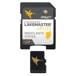 "Product # 600043-4 <ul> <li><span class=""blackbold"">Mid Atlantic States PLUS - MicroSD</span></li> <li>Contours For Many Lakes</li> <li>i-Pilot Link COMPATIBLE </li> <li>Easy to Read Contours</li> <li>Depth Highlight Range</li> <li>Water Level Offset</li> <li>Shallow Water Highlight</li> <li>Scrollable Lake List</li> <li><span class=""redbold"">Mid Atlantic States PLUS</span></li> <li><a href=""javascript:openWindow('content/pdf/lakemaster/HB_MidAtlantic_v1_2015_lakelist.pdf')"" class=""pdf"">View Full Product Lake List</a></li> <li><a href=""javascript:openWindow('http://www.humminbird.com/Category/Support/FAQ/LakeMasterPLUSCompatibility/')"" class=""pdf"">Hummibird Compatibility List</a></li> </ul>"