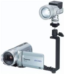 <ul> <li>Shoe Adapter</li> <li>Connects Lights &amp; Microphones</li> </ul>
