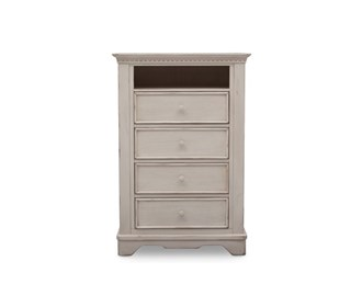 simmons 4 drawer chest with cubby