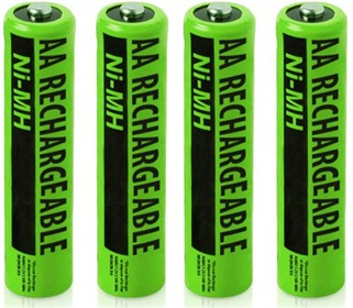 replacement battery for atnt nimh aa 4 pack