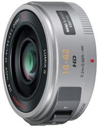"<ul> <li><span class=""blackbold"">Panasonic Lumix G 14-42mm F3.5-5.6 ASPH Lens</li> </span></li> <li>Micro Four Thirds System Standard </li> <li><span class=""redbold"">Premium 3X Video & Still Optimized Ultra Compact (14-42mm) w/Exclusive Power Zoom Technology</span></li> <li>Video Optimized Power O.I.S</li> <li><span class-""bluebold"">Premium Extra-Low Refractive Index Nano Surface Coating</span></li> <li>Silent Autofocus During Movie Recording</li> </ul>"