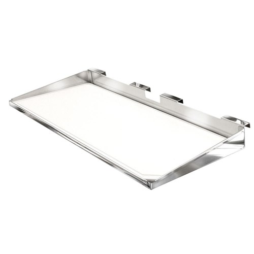 magma serving shelf with removable cutting board
