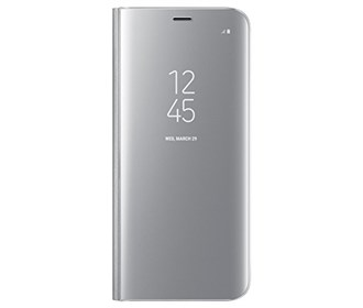 s view flip cover clear for samsung galaxy s8