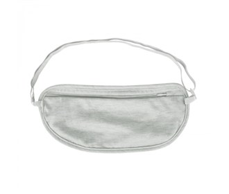 travelon ladies undergarment waist pouch gray