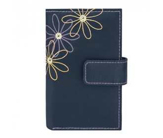 travelon daisy ladies trifold wallet