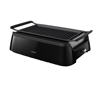 philips indoor smokeless grill hd6371/94