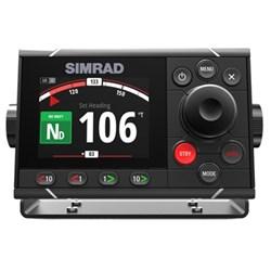 "Product # 000-13894-001 <br /> <ul> <li><span class=""blackbold"">Autopilot System</span></li> <li>Automatic Tuning &amp; Calibration</li> <li><span class=""bluebold"">Optically Bonded 4.1-inch Color Display</span></li> <li>edicated 1&deg; &amp; 10&deg; Port/Starboard Dodge Keys</li> <li><span class=""redbold"">Simrad Continuum Steering Technology</span></li> <li>Low-Profile Glass Helm Design</li> <li>Automated Turn Patternss</li> <li>Depth Contour Tracking</li> </ul>"