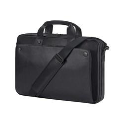 "<span class=""replaces"">Replaces Model P6N25UT</span><br /> Product # 1LG83UT <br /> <ul> <li><span class=""blackbold"">Notebook Carrying Case</span></li> <li>Black Leather</li> <li><span class=""bluebold"">Top Load</span></li> <li>RFID Blocking Pocket</li> <li>Hand &amp; Shoulder Strap</li> <li><span class=""redbold"">For Notebooks Up to 15.6""</span></li> </ul>"