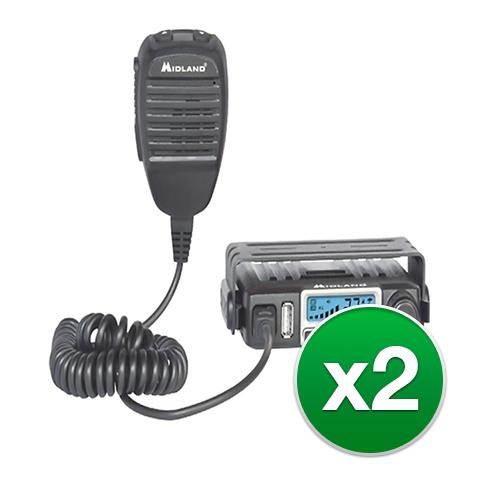 midland micromobile mxt115 2 radios