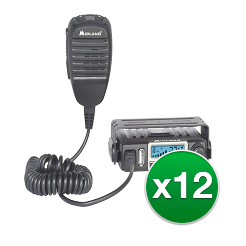 midland micromobile mxt115 12 radios