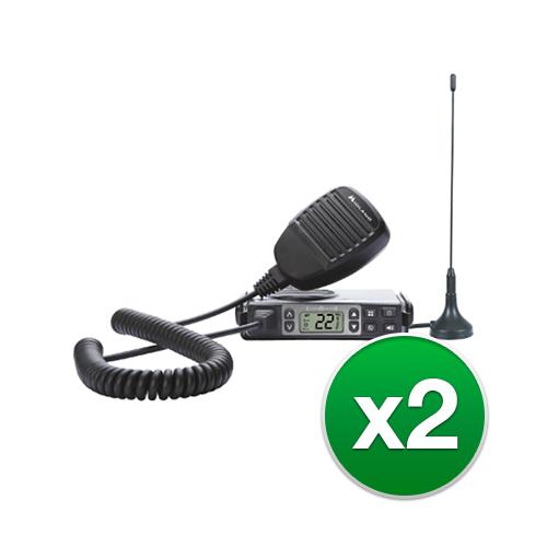 midland micromobile mxt105 2 radios