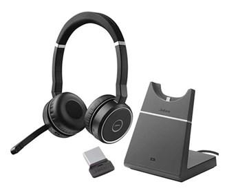 jabra gn netcom jabra evolve 75  with charging stand uc stereo