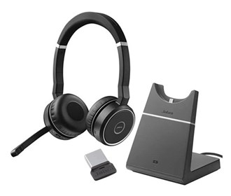 jabra gn netcom jabra evolve 75 with charging stand ms stereo
