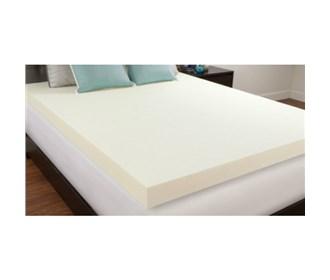 comfort revolution 4 inch memory foam topper