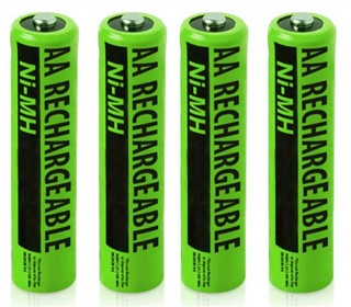 nimh aa batteries 2 pack for ge rca 4pack