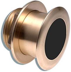 "<ul> <li>Bronze Thru-Hull Mount Transducer (8-Pin)</li> <li><span class=""blackbold"">Provides Depth &amp; Temp Data</span></li> <li>Operating Frequency Of <span class=""blackbold"">50 &amp; 200 kHz</span></li> <li>Mounts On 16-24&deg; Deadrise Angle</li> <li>More Accurate Fish Detection</li> </ul>"