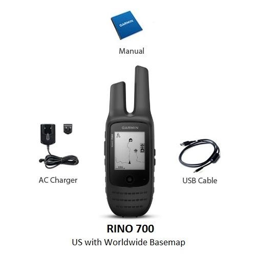 garmin rino 700 us 2 way radio gps navigator