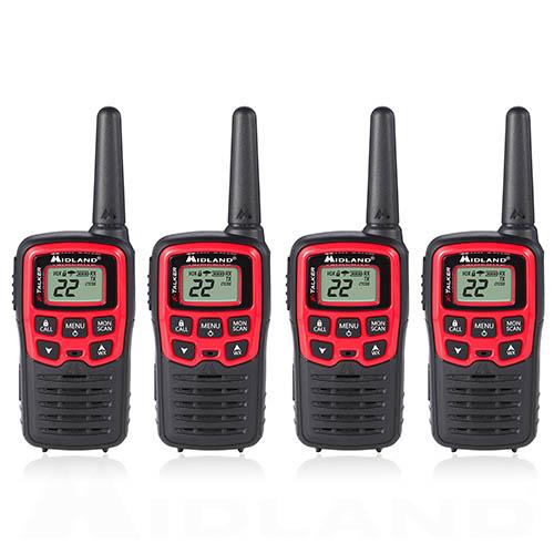 midland x talker t31vp 4 radios