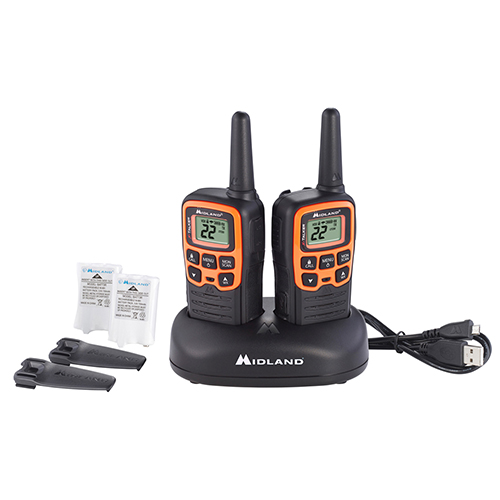 midland x talker t51vp3 2 radios