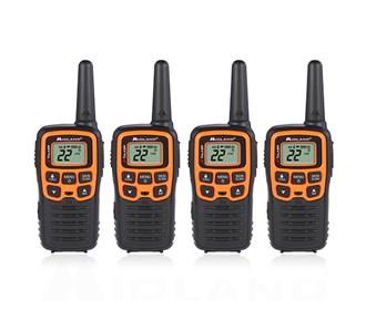 midland x talker t51vp3 4 radios