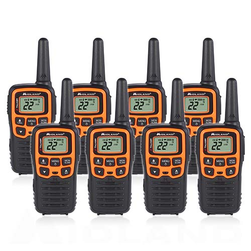 midland x talker t51vp3 8 radios