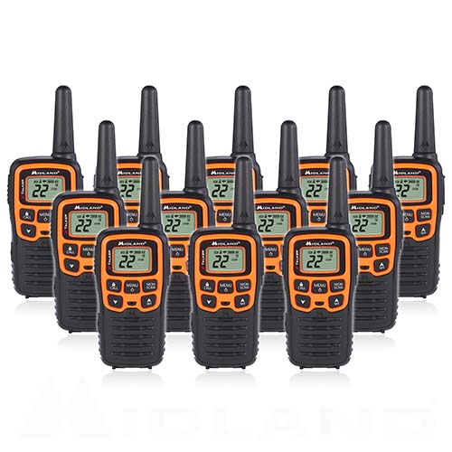 midland x talker t51vp3 12 radios