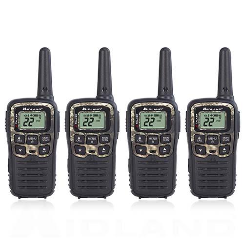 midland x talker t55vp3 4 radios