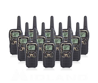 midland x talker t55vp3 12 radios
