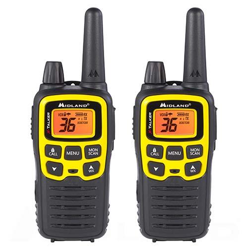 midland x talker t61vp3 2 radios