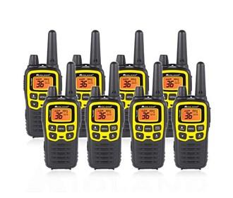 midland x talker t61vp3 8 radios