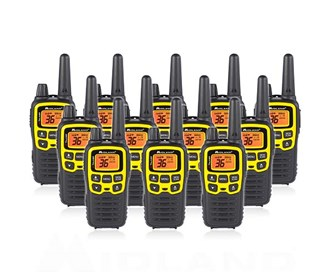 midland x talker t61vp3 12 radios