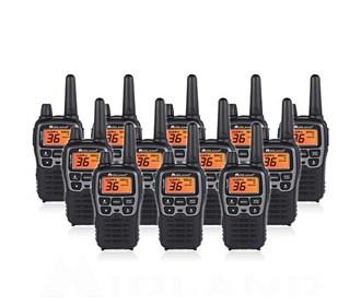 midland x talker t71vp3 12 radios