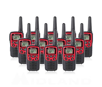midland x talker t31vp 12 radios