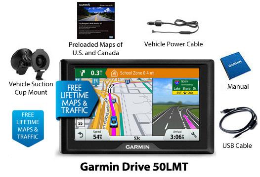 garmin drive50lmt us canada