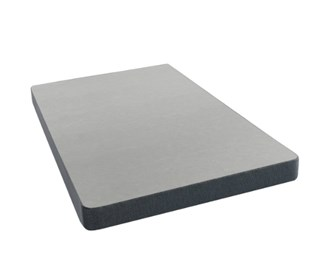 simmons silver low profile box spring twin size