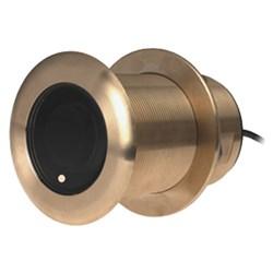 "Product # 000-13920-001 <br /><br /> <ul> <li><span class=""blackbold"">Transducer</span></li> <li>Bronze Thru-Hull Style</li> <li>Low Profile Housing</li> <li><span class=""bluebold"">300W Power</span></li> <li>95-155 KHz Medium Frequency</li> <li>0° Tilt (26° to 17° Beamwidths)</li> <li>Cable Length: 10M (33.0 ft)</li> <li>1 Internal Ceramic</li> <li>9 Pin Connector</li> <li>Depth &amp; Water Temperature Sensor</li> </ul>"