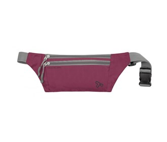 travelon double zip waist pack
