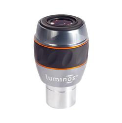 """<ul> <li><span class=""""blackbold"""">Luminos Series Eyepiece</span></li> <li>82&deg; Angular Field of View</li> <li>Retractable Eyecups</li> <li>Fully Multi-Coated Optics</li> <li><span class=""""redbold"""">Parfocal Eyepiece</span></li> <li>Threaded Barrels for Filters</li> <li>Sku: 93430</li> </ul>"""