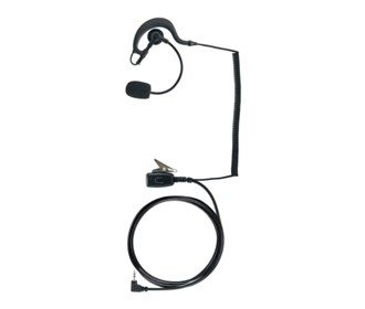 cobra earpiece with boom microphone headset