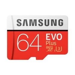 """<ul> <li><span class=""""blackbold"""">EVO Plus Memory Card w/ Adapter</span></li> <li>Capacity: 32 - 256 GB</li> <li>Grade 3, Class: 10</li> <li>Card Type: microSDXC Memory Card</li> <li>Sequential Read Speed: 100 MB/s</li> <li>Sequential Write Speed: 90 MB/s</li> <li>Certification: FCC, CE, VCCI, NATA</li> <li>MicroSD: Yes</li> <li>Water-resistant: Yes</li> <li>Temperature proof: Yes</li> <li>Full HD optimized: Yes</li> <li>Usage Application: Mobile phone, Smartphone, Tablet, etc</li> <li>Includes SD Adapter</li> </ul>"""