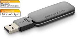 "Product # 83876-01 <ul> <li><span class=""blackbold"">DECT USB Adapter</span></li> <li><span class=""bluebold"">CAT-iq Technology</span> <li>High Definition Voice Quality</li> <li>Dongle has 180-Degree Articulation</li> <li><span class=""bluebold"">Optimized for Microsoft&reg; Lync &amp; Microsoft OCS 2007</span></li> <li><span class=""redbold"">DECT Range up to 300 Feet</span></li> <li>Eliminates Interference from Wi-Fi Networks</li> </ul>"
