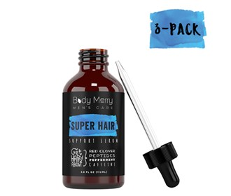 body merry super hair support serum